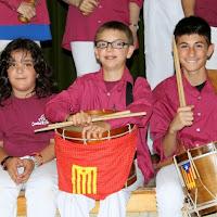Audició Escola de Gralles i Tabals dels Castellers de Lleida a Alfés  22-06-14 - IMG_2418.JPG
