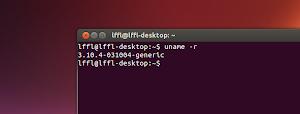 Kernel 3.10.4 in Ubuntu Linux