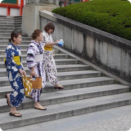 Women in Yukatas in Aug