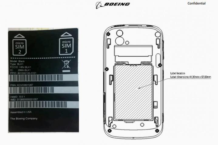 Boeing Black, smartphone ultraseguro y autodestruíble