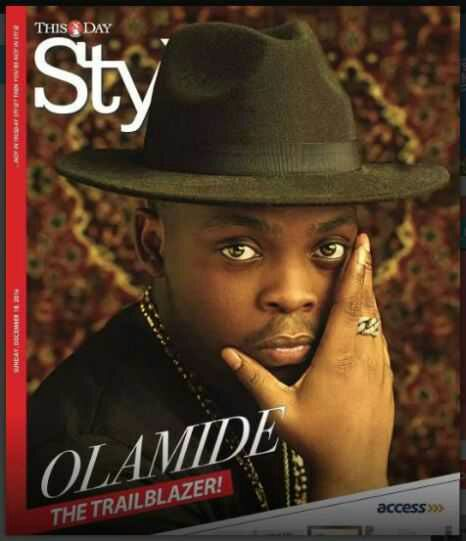 Ybnl Boss Rapper Olamide Covers Thisday Style