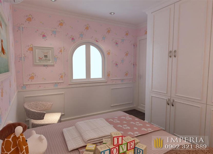 căn hộ 4 phòng ngủ nội thất siêu đẹp tại Imperia An Phú sky villa