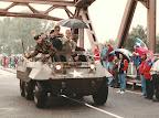 Staghound corridor tour, Grave bridge - Market Garden 1994