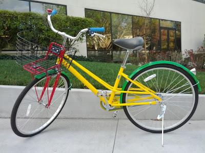 Google Fahrrad im neuen Design