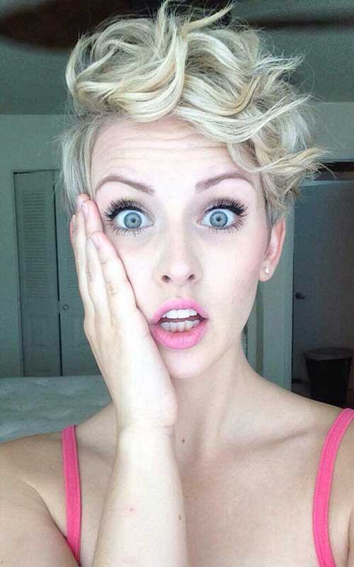 pixie cut for curly hair 2017