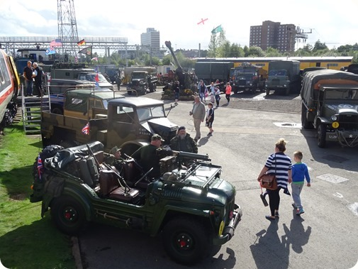 A display of military vehicles (1)