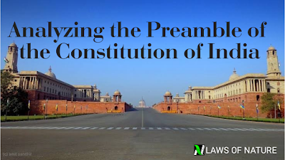 Analyzing the Preamble to the Constitution of India