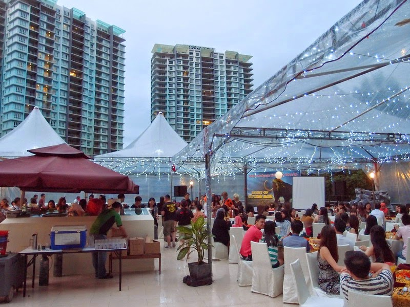 roof top venue at The Haven Ipoh