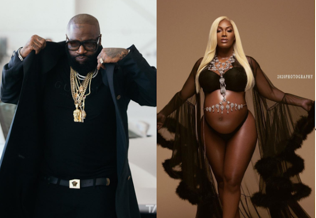 Rick Ross Welcomes Baby Girl With Instagram Fitness Model Briana Camille (Photos)
