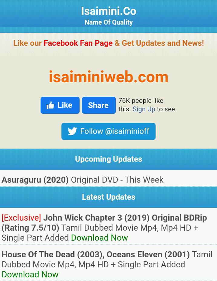 Isaimini. com
