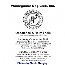 Oct. 2009 Obedience Trial