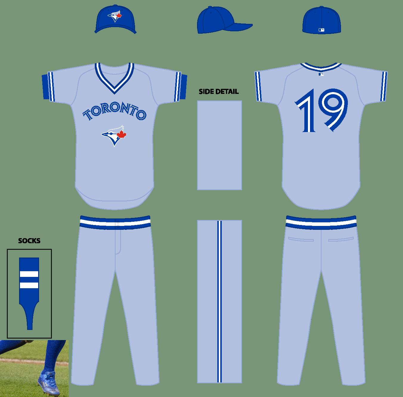 hot sales d596a 94840 The Ultimate Baseball Look: Toronto Blue Jays Road Uniform ...