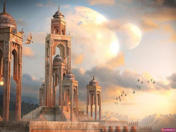 Golden City Of Dragons, Magical Landscapes 2