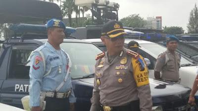 Apel Persiapan Pengamanan Malam Tahun Baru, Polresta Kerahkan 1.345 Personel Polisi dan Gabungan