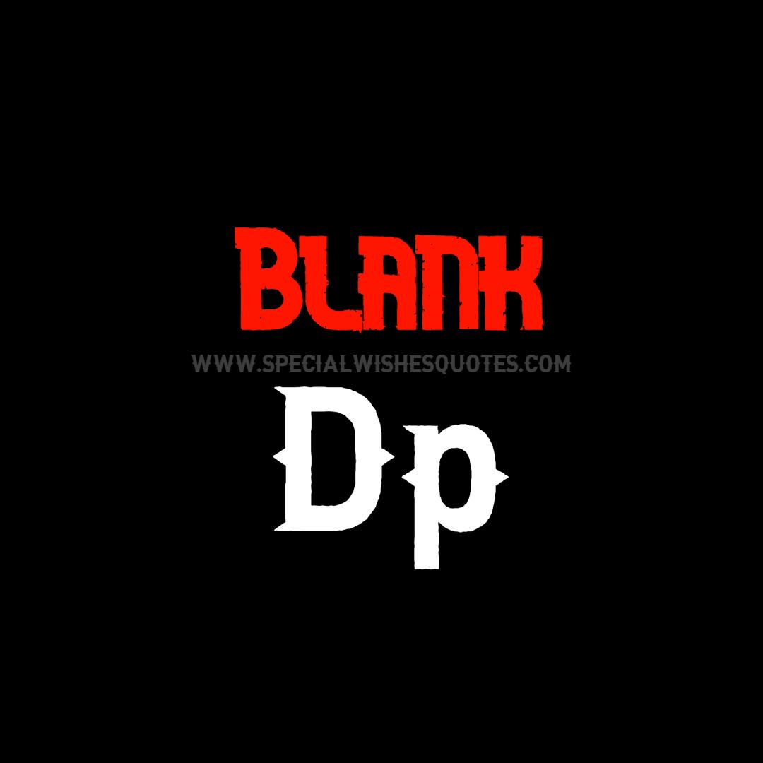 Blank Dp text for boys