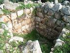 פינת המצודה הצפון מזרחית