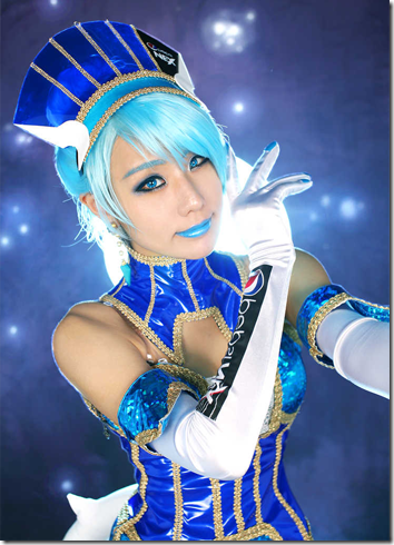 tiger and bunny cosplay - blue rose by tasha