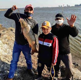 Pesca laguna de Rocha