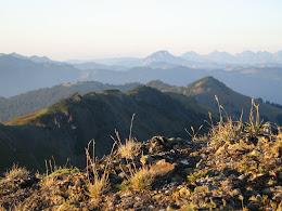 Skyline Divide ridge.