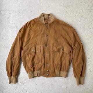 Versace Classic V2 Vintage Suede Jacket