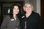 Ossana Hermosillo, Meals On Wheels Board Member, and Nedra Cutler, director of volunteers for Meals on Wheels