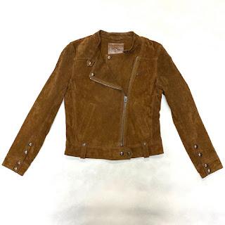 Blank NYC Alder Brown Suede Jacket