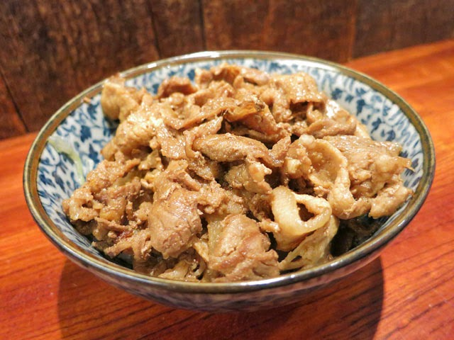 黒豚の生姜焼き丼