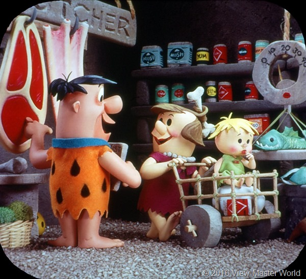 View-Master The Flintstones (B514) Real 1 Scene 2