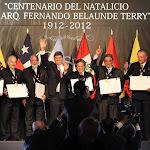 Ceremonia Centenario Fernando Belaunde Terry
