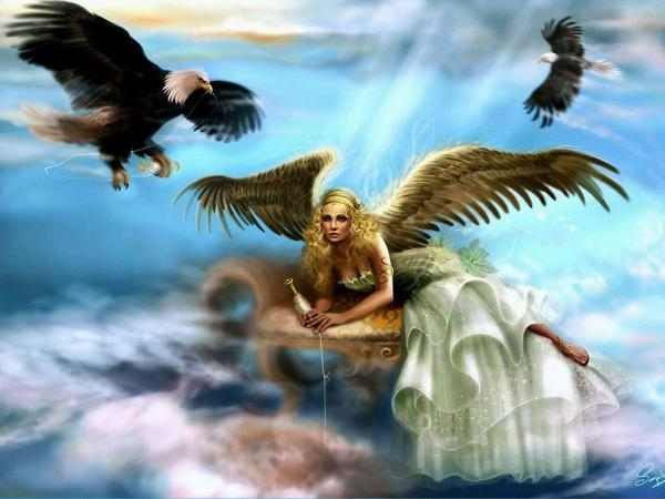 Sad Angel And Eagles, Angels 1