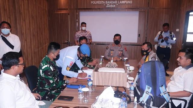 Sat POM Lanud Pangeran M. Bun Yamin Dalami Kecelakaan Penggunaan Senpi