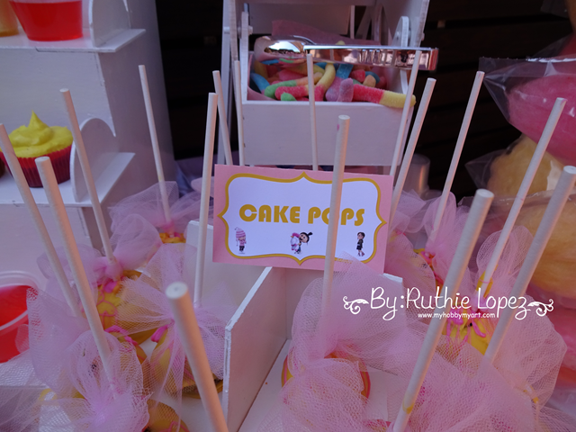 Minion Girl Birthday Party - Cakepops - SnapDragon Snippets - Ruthie Lopez - My Hobby My Art