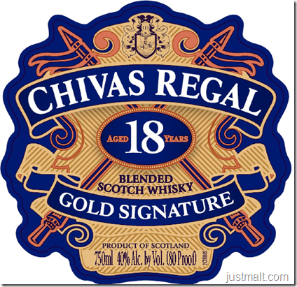 Chivas Regal Gold Signature 18-Year