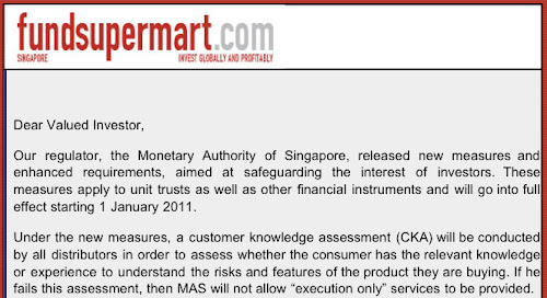 "The Monetary Authority of Singapore requires investors to either become ""knowledgeable"" or hire an investment advisor to do their investing. Is this truly to protect investor or there is a conspiracy behind this?"