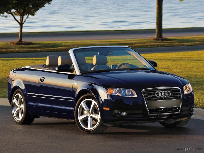 2008 Audi A4 Convertible Specifications Pictures Prices
