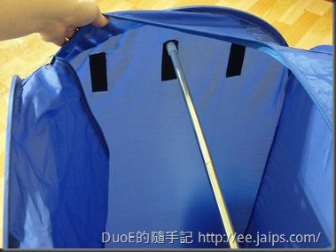 Air-O-Dry 可攜式烘乾機罩-掛衣桿