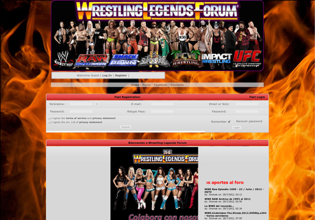 Wrestling legends forum en AltaBloggers: Directorio de Blogs para Bloggers