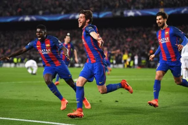 UCL VIDEO: Barcelona Vs Paris Saint-Germain 6-1 (Agg 6-5) All Goals & Highlights 2017
