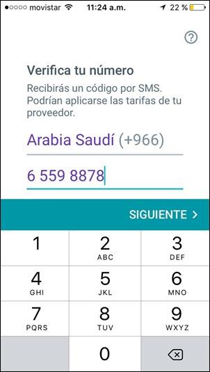 Abrir mi cuenta Google Allo - 614