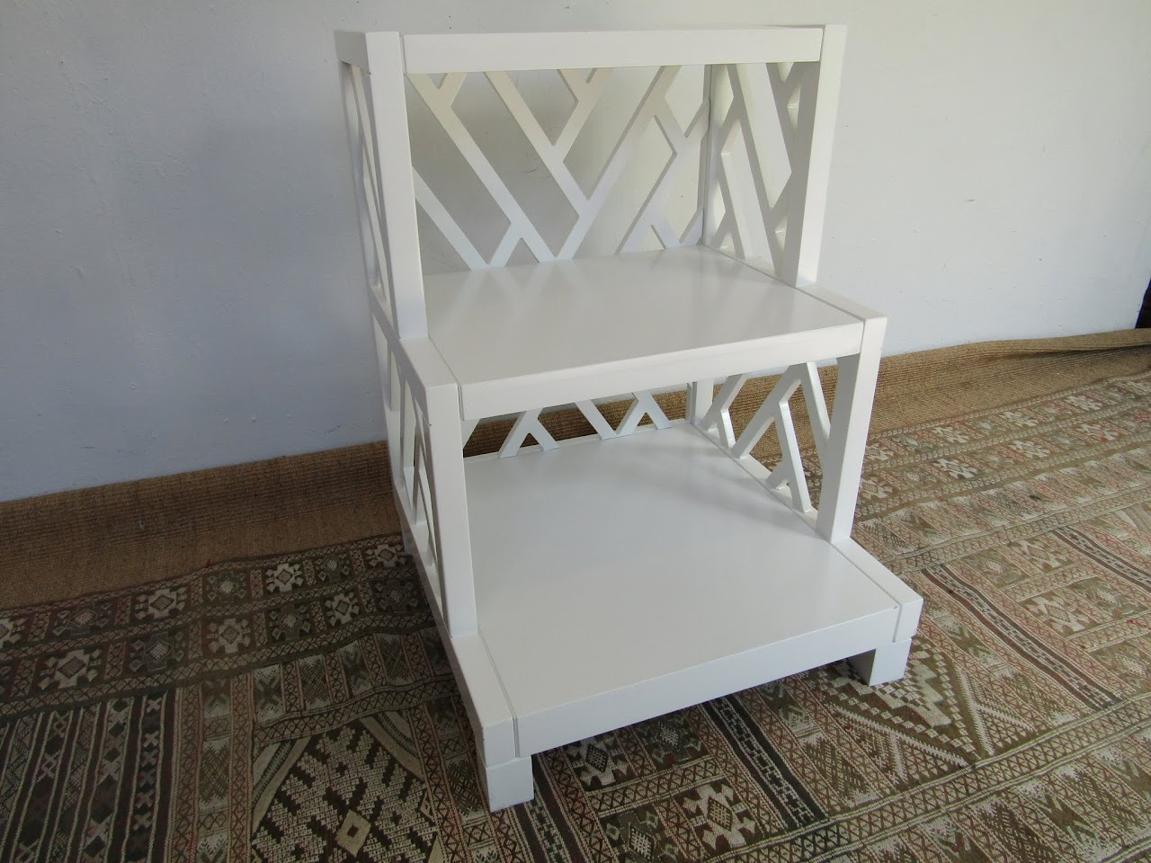 Stepped Side Table
