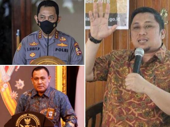 Firli Bahuri CS Kalang Kabut, Coba Jegal Rencana Kapolri Rekrut 57 Eks Pegawai KPK jadi ASN Polri