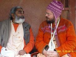 Sadhu Maharaja and Paramadvaiti Swami