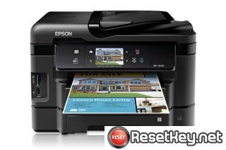 Epson WorkForce WF-3540 Waste Ink Counter Reset Key