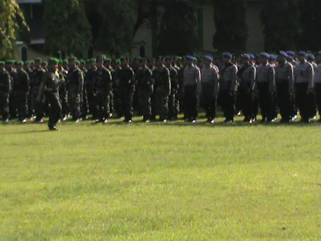1620 Personil TNI / Polri dan Banser Amankan Haul Gus Dur