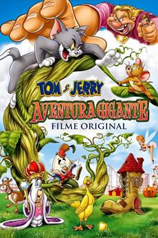 Capa Tom e Jerry: Aventura Gigante (2013) Dublado Torrent