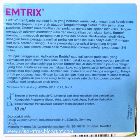 Perawatan Kuku Bermasalah dari EMTRIX