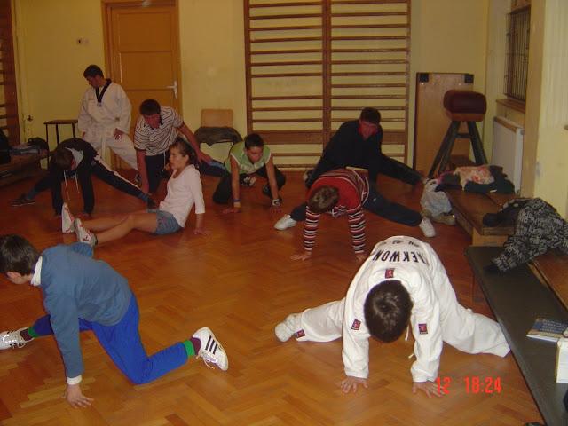 Taekwon-Do group in Gherla, Romania