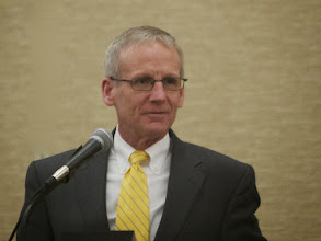 Photo: IMAA 2013 Board President, Kevin Sheehan of Hilltop Basic Resources
