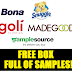 Free Box Full of Samples From SampleSource:  Free Snuggle, Bona Wood Floor Cleaner, Madegood Snack Bars, Goli Nutrition Vitamins and more!