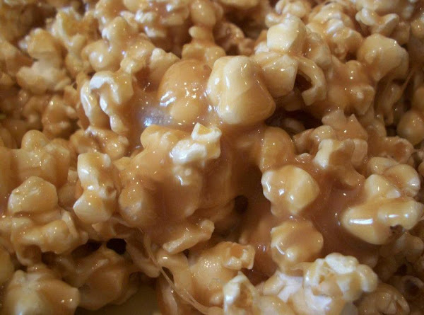 Soft And Chewy Caramel Popcorn Recipe
